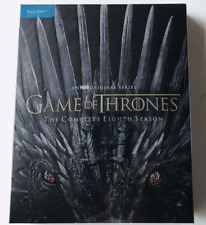 GAME OF THRONES: Season 8 Blu-ray No Digital New Sealed
