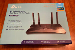 TP-Link AX1800 4-Stream Dual Band Wifi 6 Router NEW
