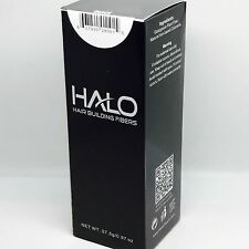 Black Halo Hair Building Fibers 27.5g Thinning Hair Applicator Concealer USA