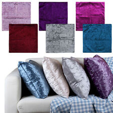 Square Velvet Cushion Cover Multicolor Decorative Pillowcases for Sofa and Couch