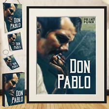 DON PABLO ESCOBAR NOYZ Poster Stampa TV ART frame + accessori regalo
