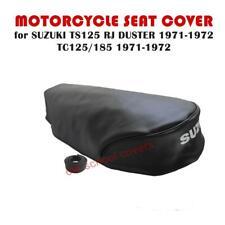 MOTORCYCLE SEAT COVER SUZUKI TS125 R J DUSTER TC125 TS185 R J 1971-72