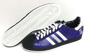 Mens Adidas Superstar 1 014141 Sacramento Kings NBA Purple 2006 Sneakers Shoes