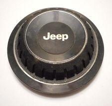 ONE 1 JEEP Cherokee Comanche 1984-1996 CENTER WHEEL CAP Chrome Hub Cap Oem Alloy