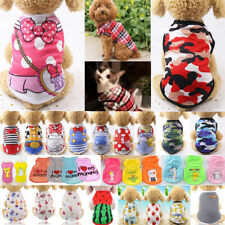 Cute Pet Dog Clothes Summer Puppy T Shirt Clothing Small Dog Chihuahua Vest #L0