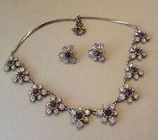 Amethyst Necklace/Choker Vintage Fine Jewellery (1970s)