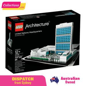 GENUINE LEGO Architecture - United Nations Headquarters - 21018 - Damaged Box