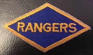 WW2 US Rangers Patch Rare