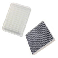 Combo Carbonized Cabin and Engine Air filter FIT for Toyota Corolla Matrix