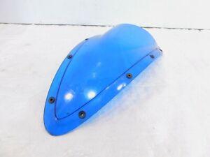 2008 2009 & 2010 Buell 1125 1125R Blue Front Fairing Windshield Windscreen