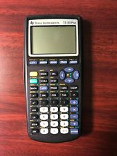 Texas Instruments TI-83 Plus Graphing Calculator w/ Cover - Tested, Works!!!
