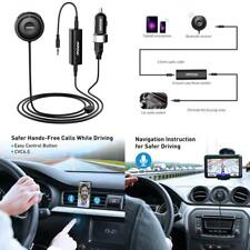Mpow Bluetooth Receiver for Car, Hands-Free Car Kits/Bluetooth Aux Car Adapter 3