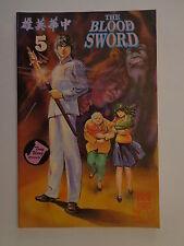 The Blood Sword MA Wing Shing M Baron T Wong #5 Jademan Comic December 1988 NM