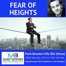 OVERCOME FEAR OF HEIGHTS HYPNOSIS CD phobia vertigo afraid overcoming treatment