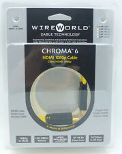 WireWorld Chroma 6 HDMI 0.3 meter 1 foot long HDMI Cable Wire World