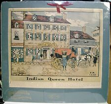 1914 Peter Schemm & Son Calendar - Philadelphia, PA - Indian Queen Hotel