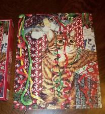 FX Schmid CHRISTMAS SURPRISES 500 pce Puzzle Wendy Christensen, Artist Complete