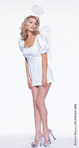 Angel Costume Mini Dress M/L UK 10-12 Leg Avenue