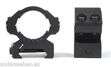 Hawke Ringmontage 25,4mm für Weaver Schiene niedrig
