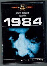 George Orwell's 1984 John Hurt Richard Burton Michael Radford DVD orwell