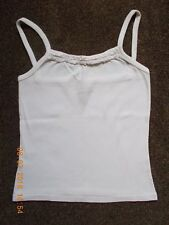 ROXY QUIKSILVER GIRLS STRAPPY CREAM IVORY CAMI TOP VEST T SHIRT 12-14-16 YRS