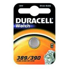 Piles Duracell Watch Argent-Oxyde 1.5 V D 389/390