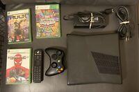 Microsoft Xbox 360 S (Slim) 250GB Console With Games