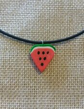 Watermelon Choker.. *Summer Fashion*.. With a FREE gift bag! Perfect gift!