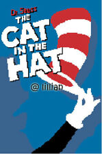 DR SEUSS THE CAT IN THE HAT HAND Cross Stitch PATTERN