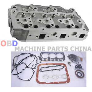 S3LComplete Cylinder Head w/ Gasket Kit for Caterpillar CAT Excavator 302.5C