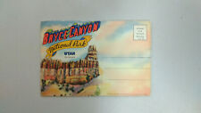 Vintage Postcard Mailer with Foldout Images - Bryce Canyon National Park - Utah