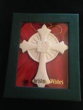 """Demdaco Christmas Wishes """"Faith"""" Porcelain Ornament """"Faith for the Future"""""""