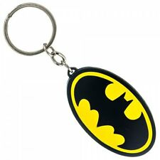 DC Comics Batman Logo Metal Keychain Officially Licensed Dark Knight Symbol NEW