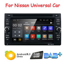 Android 8.1 Radio for Nissan Dash Car GPS CD DVD Player Touch BT 2 DIN Stereo US