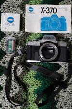 Minolta X-370 35mm Slr Film Camera Body Only Untested