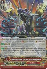 CARDFIGHT VANGUARD CARD: DESTRUCTION TYRANT, GRADOGIGANT - G-FC03/015EN RRR
