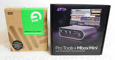 Avid Mbox 3 Mini 2x2 Audio Interface + Ableton Live 8 Intro Software + Garantie