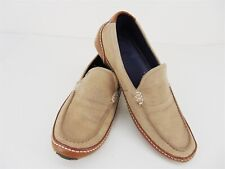 COLE HAAN NikeAir Tan Suede Leather Driving Moccasin Loafer Shoe Men's Size 7M