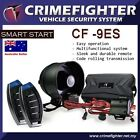 CRIMEFIGHTER CF-9 Remote Keyless Entry One Way Car Alarm System Remote Start