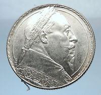 1932 SWEDEN Gustaf V Adolf GUSTAF II ADOLF Silver Swedish Coin 2 Kronor i72461