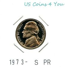 *BU* 1973-S PROOF JEFFERSON NICKEL *BEAUTIFUL* L@@K