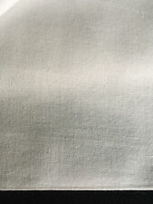 "60"" White Cotton Sheeting Light Weight Woven Fabric By the Yard"