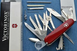 c1996 vintage BUT NEW IN BOX NOS Victorinox SwissChamp Swiss Army Knife NIB NOS