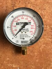 FERGUSON 300PSI Pressure Gauge for Fire Protection  Air/Water
