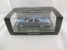 Minichamps 436 139400 2003 Bentley Arnage R In Light Blue & Metallic Blue Ltd ed