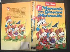 1° MANUALE DELLE GIOVANI MARMOTTE WALT DISNEY 1^ediz. 1991 DISNEY LIBRI