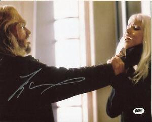 Tyler Mane Sabretooth X-Men Halloween Star Signed Autograph Photo Bam Box COA