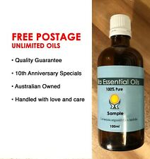 PATCHOULI Essential Oil 100ml 100%PURE •FREE POSTAGE• Aromatherapy GRADE• RA OIL