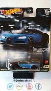 Hot Wheels Exotic '16 Bugatti Chiron   (NG120)