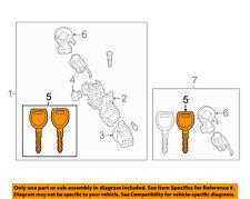 MAZDA OEM 06-15 MX-5 Miata Ignition Lock-Key F1Y1762GX